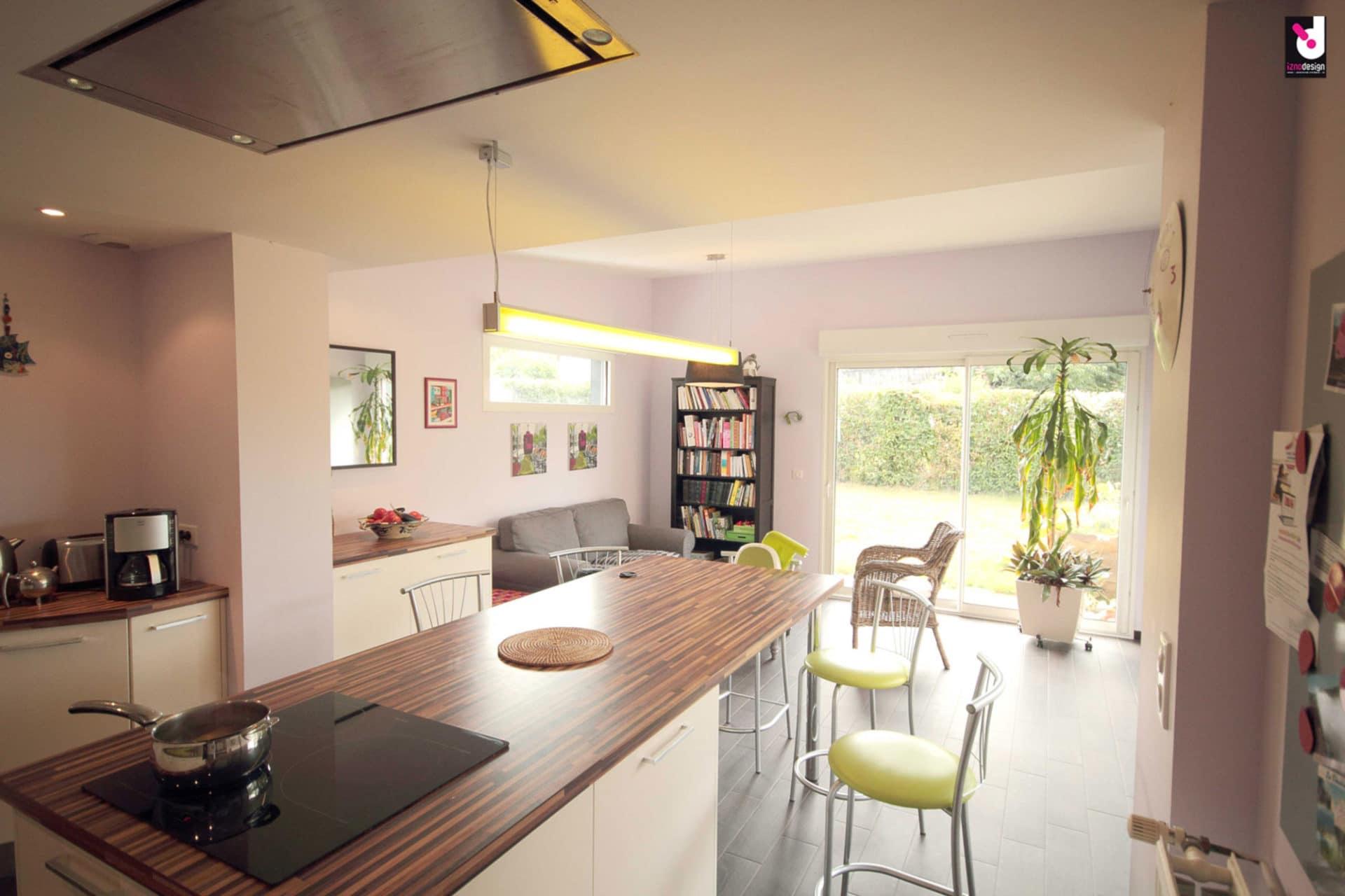 Extension maison individuelle iznodesign for Maison avec cuisine ouverte