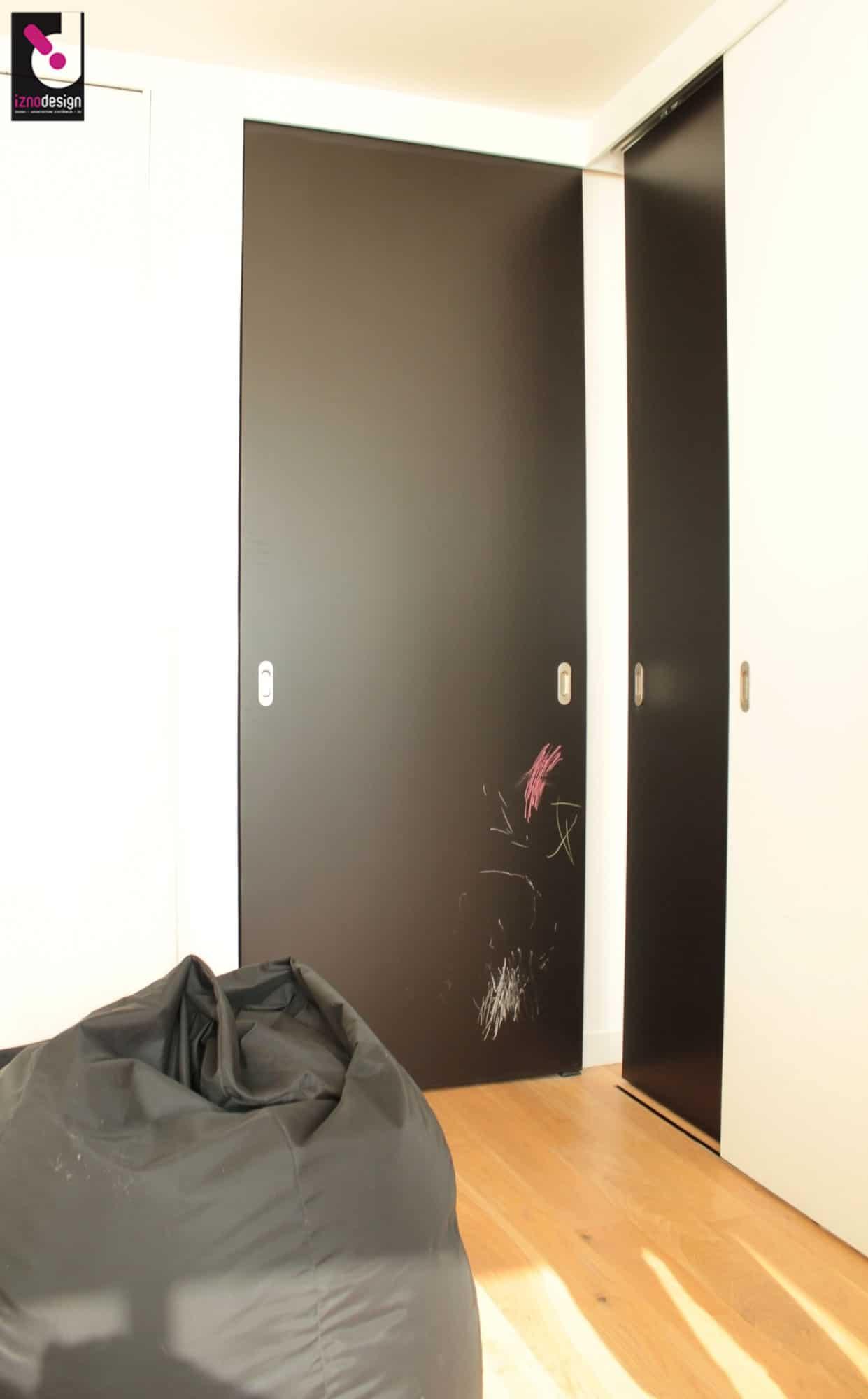 Cloison mobile dans un s jour iznodesign - Cloison mobile appartement ...